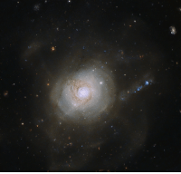 Tumblr, Blog, and Space: photos-of-space:  Spiral galaxy NGC 7252 [3364 x 3197]