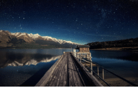 Tumblr, Blog, and New Zealand: photos-of-space:  Starry night in Lake Wakatipu, Otago New Zealand. [ 500 X 400 ]