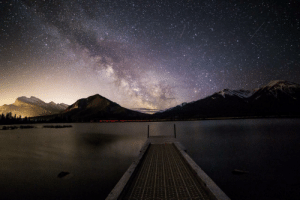 photos-of-space:  The Galactice Core over Vermillion Lakes, Banff, Alberta [OC] [5219x3479]: photos-of-space:  The Galactice Core over Vermillion Lakes, Banff, Alberta [OC] [5219x3479]