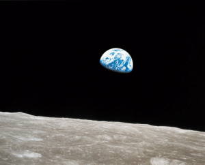 photos-of-space:  When Apollo 8 First Orbited The Moon And Saw The Earth Rise In Space: photos-of-space:  When Apollo 8 First Orbited The Moon And Saw The Earth Rise In Space
