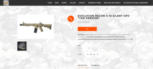 PHP array error on the airsoft website: https://www.mainirishairsoft.com/product/evolution-recon-s-10-silent-ops-tan-version/: PHP array error on the airsoft website: https://www.mainirishairsoft.com/product/evolution-recon-s-10-silent-ops-tan-version/