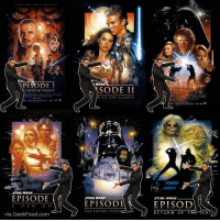 "Darth Vader, Empire, and Memes: PI  DE I  N PHANTOM MENACE.  STAR WARS.  EPISODE  via Geek Feed com  WA  SODE II  K OF THE CLONES  STAR WARS  EPISODE  THE EMPIRE STRIKE  K  ENGL TRE SIT  STAR WARS  EPISOD  RETURN OF T  ED ‪""I loved RogueOne. Now we need a Darth Vader spin-off.""‬"