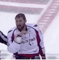 Ovie tells Josh Anderson to wipe his bloody nose Caps NHLDiscussion Ovechkin: pi Ovie tells Josh Anderson to wipe his bloody nose Caps NHLDiscussion Ovechkin