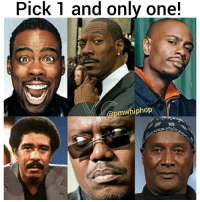 Memes, 🤖, and Stand Up: Pick 1 and only one!  Gpmwhiphop Pick the best stand up comedian!!! 🤔🤔🤔 we choose davechappelle