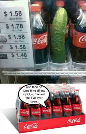 Pickle coke: Pickle coke
