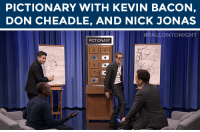 "youtube.com, Game, and Kevin Bacon: PICTIONARY WITH KEVIN BACON,  DON CHEADLE, AND NICK JONAS   ALLONTONIGHT  PICTIONAR <p>Jimmy and Nick Jonas battle Kevin Bacon and Don Cheadle in a game of Pictionary! </p><figure class=""tmblr-embed"" data-provider=""youtube"" data-orig-width=""540"" data-orig-height=""304"" data-url=""https%3A%2F%2Fwww.youtube.com%2Fwatch%3Fv%3DsMI9pTql0Ls%26list%3DUU8-Th83bH_thdKZDJCrn88g""><iframe width=""500"" height=""281"" id=""youtube_iframe"" src=""https://www.youtube.com/embed/sMI9pTql0Ls?feature=oembed&amp;enablejsapi=1&amp;origin=https://safe.txmblr.com&amp;wmode=opaque"" frameborder=""0"" allowfullscreen=""""></iframe></figure>"