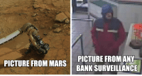 Bank, Banks, and Mars: PICTURE FROMAN  PICTURE FROM MARS I BANK-SURVEILLANCE there are Nokias in banks