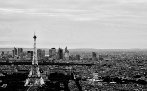 Paris, Back, and Filter: Picture of Paris I took a few years back with vignette filter to make it look more nostalgic.