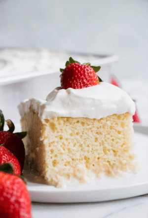 Picture of tres leches cake. Link in discription.: Picture of tres leches cake. Link in discription.