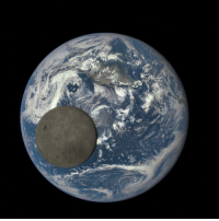 "Pictured is an image, captured by satellite, of the moon passing in front of Earth. This image may look photoshopped but it is 100 percent legitimate. NASA released the photograph, taken by a camera aboard the Deep Space Climate Observatory (DSCOVR) satellite. The image shows the fully illuminated ""dark side"" of the moon that is never visible from our humble planet. Don't let your eyes deceive you — deep space does not look how it does in the movies. Sorry, J.J Abrams: ""Star Trek"" and ""Star Wars"" were both great, but the real outer space is even more amazing. Shout-out to our friends @Tech for this great science post!: Pictured is an image, captured by satellite, of the moon passing in front of Earth. This image may look photoshopped but it is 100 percent legitimate. NASA released the photograph, taken by a camera aboard the Deep Space Climate Observatory (DSCOVR) satellite. The image shows the fully illuminated ""dark side"" of the moon that is never visible from our humble planet. Don't let your eyes deceive you — deep space does not look how it does in the movies. Sorry, J.J Abrams: ""Star Trek"" and ""Star Wars"" were both great, but the real outer space is even more amazing. Shout-out to our friends @Tech for this great science post!"
