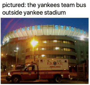 Now Aaron Judge is injured!?!?!: pictured: the yankees team bus  outside yankee stadium Now Aaron Judge is injured!?!?!