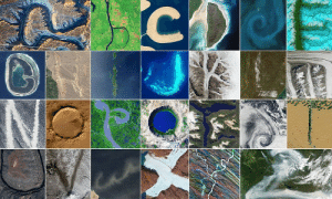 Friends, Tumblr, and Alphabet: pictures-of-space:    Reading the ABCs from Space All 26 letters of the English alphabet are represented here using only satellite imagery and astronaut photography. If you are a Scrabble or Words with Friends aficionado, use seven of the letters to spell out words related to the earth sciences for our December puzzler.