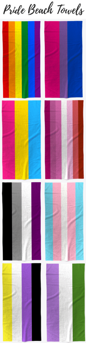 Beautiful, Tumblr, and Beach: Pide Beach Torvels gambitsobsession: amelie-not-amelia:   fangoddess817:   gretatheinteresting:   writing-prompt-s: Available here: https://teespring.com/stores/pride-beach-towels  I can lounge about at the pool in my monofin and be a beautiful lesbian mermaid hhhhh I need this   Subtle and beautiful i want 10   Gonna be strolling through pool wrapped in bisexuality luxury    at some point this will wind up being worn as a cape and I am 1000% okay with that