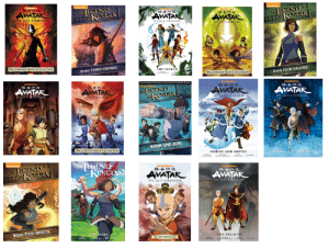 Avatar, Book, and Change: pieedone  tR EGIND  RORRA  AVATAR  LGIND  KORRA  AVATAR  AVATAR  tHE Aft AIRENDER  THE LAET ALUNDINu  THE KST AIRsE  Te coere Box 3 CoueCTION  BOOK THREE: CHANGE  THE SEANCH  Tme COMriere Boow 2 coueow  BOOK FOUR: BALANCE  olneodenc  elcelode  teeledege  AVATAR  LGIND  KORRA  AVATAR  AYATAR  AVATAR  THEOE LININREN  THASAIANPA  TH LAITAI5ENDE .  tHE LAIT AIRBENDER  THE IB  BOOK ONE:AIR  e COMPire BK I CouecT  NORTH AND SOUTH  SMOKE AND SHADOW  LCIND  KORRA  LGIND  KORRA  THE  niceelodeon  oeon  AVATAR  AVATAR  THE LAFT AIRSENDER  THE LAST AIRENDER  BOOK TWO:SPIRITS  TURE WARS  THE eST ADNENRLS  THE PROMISE Having finally finished the series, my ranking of the whole franchise. (If I ranking episodes, Beginnings would be number 2, with Sozin's comet at number 1.)