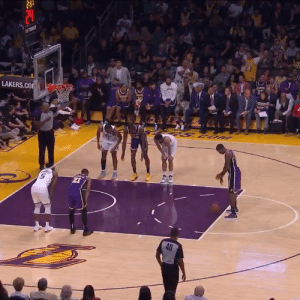 Lakers fans react to Kentavious Caldwell-Pope scoring his first point of the season!   After 2 Games (48 MINS) 1 PT  0-9 FG 0-4 3PT 1-2 FT 5 REB 4 AST 2 STL 8 PF https://t.co/3PqeGtkf3U: piey  LAKERS.CO  UOS S  40 Lakers fans react to Kentavious Caldwell-Pope scoring his first point of the season!   After 2 Games (48 MINS) 1 PT  0-9 FG 0-4 3PT 1-2 FT 5 REB 4 AST 2 STL 8 PF https://t.co/3PqeGtkf3U