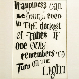 """Life, Tumblr, and Blog: piness can  efound even  i THE darkest  One only  tememberS TO  On THE  rp calligraphy: """"Happiness can be found even in the darkest of times, if one only remembers to turn on the light."""" J.K. RowlingCalligraphy by @fedezubo     Live the CalligraphyLife.org"""