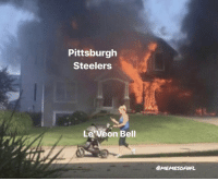Football, Nfl, and Pittsburgh Steelers: Pittsburgh  Steelers  Le Veon Bell  MEMESOFUFL Basically.. https://t.co/USeDoKegFi