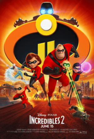 """Pixar, The Incredibles, and Brain: PIXAR  INCREDIBLES 2  JUNE 15 In """"The Incredibles 2"""", it is strongly implied that Mr. Incredible is suffering from long-term brain damage. This is seen when he fails to use the anchor to slow the boat down, or to use his strength to destroy its propeller, since these are more logical and easier solutions than the one he chose."""
