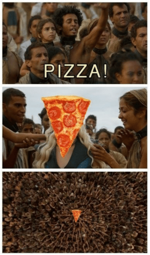 game-of-thrones-fans:  Khaleesi Is Great, but Is She Pizza? / via: PIZZA! game-of-thrones-fans:  Khaleesi Is Great, but Is She Pizza? / via