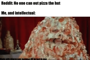 Pizza the Hutt from Spaceballs has out pizza the Hut because of the extra 't' at the end.: Pizza the Hutt from Spaceballs has out pizza the Hut because of the extra 't' at the end.
