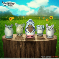 Easter, Memes, and Netflix: PLACHU  PLATT  ALLURA  CHULATT  CHUCHULE  ALL NEW EPISODES  I NETFLIX  NOW STREAMING Decorate your Easter eggs with Voltron egg stands! http:-bit.ly-VoltronEasterEggs