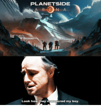 Dank Memes, Never, and Planetside: PLANETSIDE  RE N A  Look how they massacred my boy