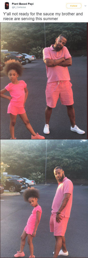 Gif, Target, and Tumblr: Plant Based Papi  @X_Confucius  Follow  Y'all not ready for the sauce my brother and  niece are serving this summer ruinedchildhood: