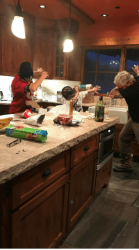 Blessed, Fall, and Guy Fieri: Plastic rasec-wizzlbang:  0rganasolo: guy fieri dabbing with his sons?????? though neither blessed nor cursed, this image holds a tremendous amount of power, it cannot fall into the wrong hands