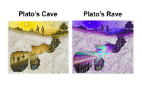 Tumblr, Blog, and Good: Plato's Cave  Plato's Rave good-janet:Chidi vs. Jason