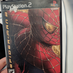 Spider, SpiderMan, and Game: PlavSkation.2  NTSC u/c  TEEN Finally got that Spider-Man game everyone talking about