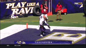 The @Ravens offense picks up where they left off.  Lamar Jackson to Mark Andrews for SIX! @Lj_era8 #AZvsBAL  📺: FOX 📱: NFL app // Yahoo Sports app https://t.co/mVWkKmtKsc: PLAY LIKE A  RAVI  FOX NFL  TOUCHDOWN  NFL  NFL.COM The @Ravens offense picks up where they left off.  Lamar Jackson to Mark Andrews for SIX! @Lj_era8 #AZvsBAL  📺: FOX 📱: NFL app // Yahoo Sports app https://t.co/mVWkKmtKsc