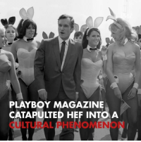 Hugh Hefner, Memes, and Playboy: PLAYBOY MAGAZINE  CATAPULTED HEF INTOA  CULTURAL PHENOMENON RIP Hugh Hefner