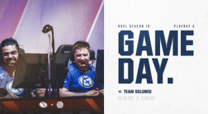 Didn't get your fill of EG yet tonight? Our third match of #R6PL Season 10 is live now!  Come cheer on the 🌈 boys as they face off against @TSM !  https://t.co/nB1vgaJ3s9 https://t.co/OAoWjgByVK: PLAYDAY 3  R 6 PL SEASON 10  GAME  DAY.  MAX  vs TEAM SOLOMID  19:30 PST / 3:30 CET Didn't get your fill of EG yet tonight? Our third match of #R6PL Season 10 is live now!  Come cheer on the 🌈 boys as they face off against @TSM !  https://t.co/nB1vgaJ3s9 https://t.co/OAoWjgByVK