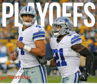 The Dallas Cowboys are the first team to clinch a spot in the playoffs! cowboysnation: PLAYERS  rt The Dallas Cowboys are the first team to clinch a spot in the playoffs! cowboysnation