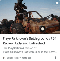 Playerunknown S Battlegrounds Ps4 Review Ugly And Unfinished The