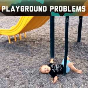 Fail, Memes, and Army: PLAYGROUND PROBLEMS Playgrounds are more dangerous than they look!  Submit your video and you could win $1,000!  Submit here: https://fail.army/2YsM9Wm