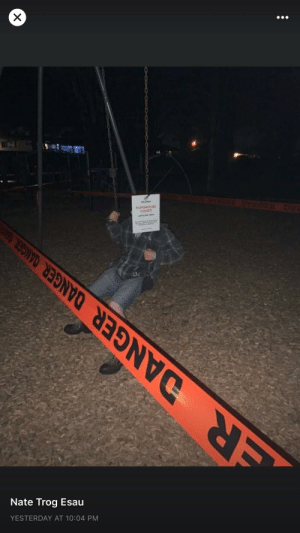 Playgrounds were closed down yesterday. This was posted last night. This is why we can't have nice things.: Playgrounds were closed down yesterday. This was posted last night. This is why we can't have nice things.