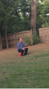 Playing catch with dad: Playing catch with dad