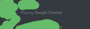 Playing Google Chrome, I guess it must be a game.: Playing Google Chrome, I guess it must be a game.