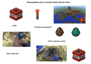Playing Minecraft in Creative Mode Starter Pack: Playing Minecraft in Creative Mode Starter Pack
