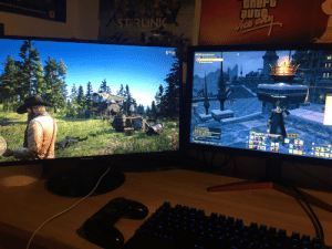 Playing RDR while I queue for dungeons is a fucking dream come true, thanks PC gods: Playing RDR while I queue for dungeons is a fucking dream come true, thanks PC gods