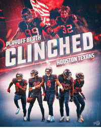 Memes, Nfl, and Texans: PLAYOFF BERTH  CLINCHED  HOUSTONTEXANS  CO  NFL The @HoustonTexans are headed to postseason! #Texans https://t.co/OV0XUs3MTF