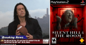 Playstation2 Htscioc Silent Hill4 The Room Breaking News Sony