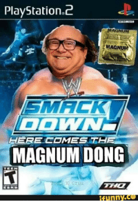 PlayStation 2  MAGNUM  MAGNUM  DO  HERE COMES AT  MAGNUM DONG  TEEN  funny.