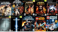 2002 - 2006 The Golden Era Of Star Wars Games: PlayStation.a  STAR WARS  H II  EPISODE III  STARWARS  STARWARSSTAR WAR  OLD REPUBLI  ME  12  THE STH LORDS  UCASARTS  STAR WARS  STAR  xeox  REPUBLIC STARLEGO  LEGO  STARWARS- STAR ARS COM MANDD  v WARS  THE O  THE VIDEO GAME  JEDIOUTCAST  JEDI KNIGHT  JEDI ACADEMY  EDI KNIGHT  3 2002 - 2006 The Golden Era Of Star Wars Games