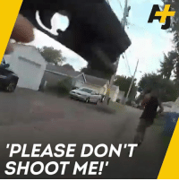 Memes, Police, and Black: PLEASE DON'T  SHOOT ME! A black man was shot in the back while running away from Minneapolis police. He was killed, but the officers won't be charged.