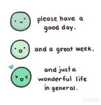 find wholesome memes on instagram now! @memeswholesome: please have a  good day  o and a great week.  and just a  o K) wonderful life  in general. find wholesome memes on instagram now! @memeswholesome