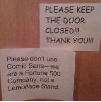 Owned. Savage hunter: @insta_graham1212 savagehunters: PLEASE KEEP  THE DOOR  CLOSED III  THANK YOUll  Please don't use  Comic Sans  we  are a Fortune 500  Company, not a  Lemonade Stand Owned. Savage hunter: @insta_graham1212 savagehunters