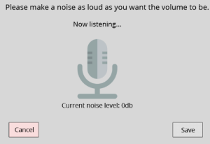 Gif, Odb, and Reddit: Please make a noise as loud as you want the volume to be.  Now listening...  Current noise level: Odb  Cancel  Save doom-exe:  decodering:  decodering:  Redditors design worst volume sliders possible  Some of these are genius! ( see reddit / via )  Well, this post went a bit nuts.    That last one honestly belongs in hell