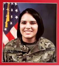 Family, Memes, and Soldiers: Please pray for family and fellow soldiers.... She will be brought home tonight to be laid to rest. SPC Marianne Zerquera Ramos. #AHeroRememberedNeverDies #NeverForgotten #HonoringOurFallen